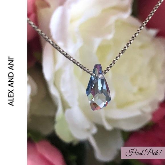 aedfe469d Alex & Ani Jewelry | Alex Ani Crystal Infusion Swarovski Necklace ...